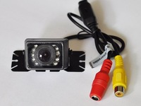 Free Shipping & 170 Degrees car rear view reversing camera , 9pcs LED ,waterproof
