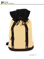 Travelling bag contracted personality rucksack shoulder bag double shoulder pack