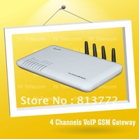 GoIP 4 / Support VPN 4 channels GSM VoIP Gateway,GoIP4