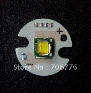 CREE XML T6 Flashlight Accessories White Light LED Emitter with Aluminium Base