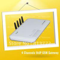 FREE Shipping! Brand New 4 Port GoIP GSM Gateway/4 Channel GoIP VoIP Gateway / goip4