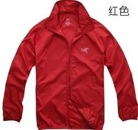 thin and light skin outdoor sports coat  Anti-Wind and rain