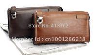 Men's Genuine Leather Business Briefcase Bag Handbag Case 2 Color