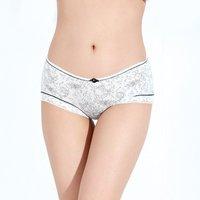 Fashion new Sexy temptation bamboo fibre women's panty,Transparent lace Ladies' underwear,4colors wholesale price PG1064