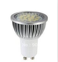 GU10/E27 9W Bulb 550Lumens 5630 SMD LED 16LED Bulb 85-265V 2800-3200K/6000-6500k Warm White/White Light Bulb
