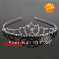Alloy rhinestone tiara headband bridal hairband pageant hair accessories 60pcs/lot assorted styles free shipping