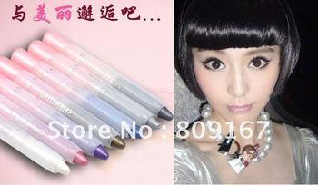 Wholesale - - 2012 New Eye Shadow Pen Women's Bling Shining Peal Make Big Eye Trendy 50 pcs/Lot
