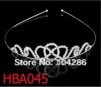 Rhinestone pageant headband birthday party hairband crystal princess headband 60pcs/lot assorted styles free shipping