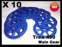 10 pcs Main gear For Align Trex 450 T-REX 450 SE/V2/XL/SPORT/PRO DB