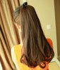 "NEW ARRIVALS,A+++,22"" 95G 95% india remy human hair Silky wavy Ponytail Hair(#2 black,#2t33 deep brown,#2t30 light brown)"