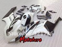 Injection mold for HONDA 04-05 CBR1000 CBR 1000 RR 1000RR CBR1000RR 04 05 2004 2005 white black fairing kit + free windscreen