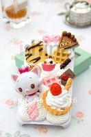 DIY Cream Mary Kate Phone Case Flatback Cabochons Kawaii Deco Kit Set