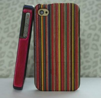 Designed wood case back cover for iphone 4g 4s