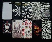 Skull IMD hard case back cover for iphone 4g 4s