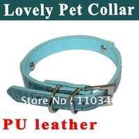 Ошейники и Поводки для собак New S-L Adjustable Pet Puppy Collar Lead Scarf Print Dog Cat Muffler Scarf PU Bandana A Good GIft For Pets