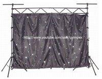 3m*3m 18 leds/SQ controller(15 programs)LED Star Curtain/Cloth Horizon DMX  /LED Single Color Starcloth/LED dropback