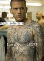 Imitation prison break tattoo clothes imitation prison break tattoo t-shirts tattoos clothes rock hip-hop tattoo clothes