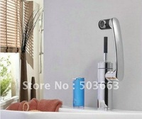 Lucky Cat Swivel Kitchen Faucet Polished Chrome Mixer Brass Tap CM0889