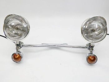 Chrome Turn Signal Spotlight for Harley Electra Glide Touring Ultra Softail