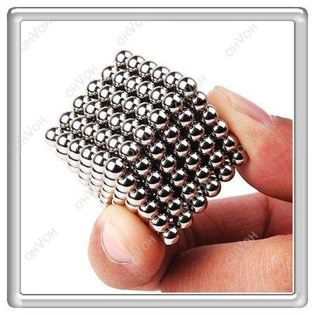 K5H 5mm 216 Magnets Balls Magnetic Puzzle Cube Sphere Geek Boy Girl Hot Toy Gift(China (Mainland))