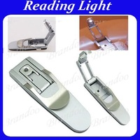 Free Shipping Robotic LED Clip On Reading Book Light Booklight Reading light
