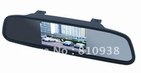 4.3 Inch car monitor Color Digital TFT LCD Screen Car Rear View Rearview Mirror Monitor
