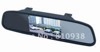4.3 Inch car monitor Color Digital TFT LCD Screen Car Rear View Rearview Mirror Monitor