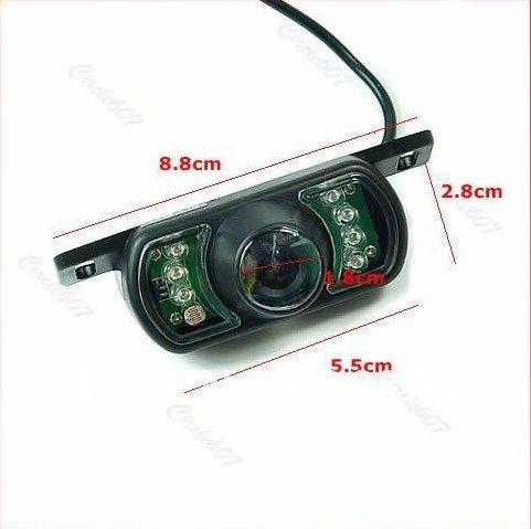 wholesale 2.4G GPS Wireless Car Rear View Night Vision Reversing Backup Parking Camera 5pc /lot(Hong Kong)