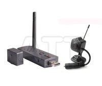 2.4g Wireless camera kit USB DVR 4ch+1 tiny camera pinhole camera for surveillance