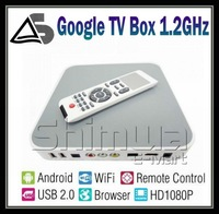 NEW Android 2.3 TV BOX WIFI HDMI Media Player HDTV, Rockchip RK2918 1.2GHz Processor google tv box
