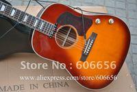 Wholesale John Lennon signature 70th J-160E sunburst  acoustic electric guitar