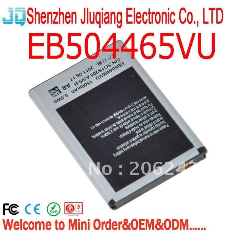 EB504465VU Battery For Samsung R900 Craft R910 Galaxy Indulge R910 R915 W319 I637 T839 T839 Sidekick 4G M580 M580 Replenish M820(China (Mainland))