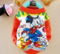 Free Shipping,Wholesale(4 pcs/lot, 4 sizes *1color) Donald Duck Kids Long Sleeve Pullovers Sweater/Children Cartoon Sweater