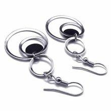 circle drop earrings promotion