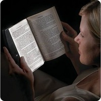 LED Reading Light LED Panel Lights Portable Book Light Paperback Night Wedge Free Shipping