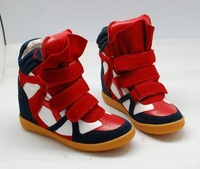 2012 NEW ARRIVAL WOMEN`S REAL LEATHER ISABEL MARANT SHOES CASUAL SNEAKERS 5 COLORS EUR34-41