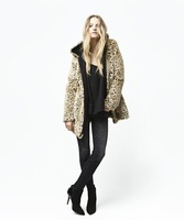 2012 High Fashion New Design Lady's Fur Vest best selling Luxurious noble brown fur vest 5size