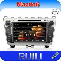 Factory Price!!! Mazda 6 car dvd player + GPS Navi, car audio radio, in stock & free shipping!
