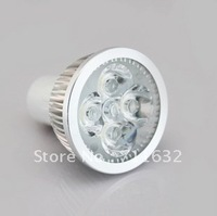 Free Shipping GU10 Warm White/Day White 5 LED Spotlight 5W 85~265V Spot Light Bulb 20pcs/lot