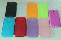 wholesale 30pcs/lot Translucence pc Skin Back Hard Case for Samsung Galaxy S3 i9300 Free shipping