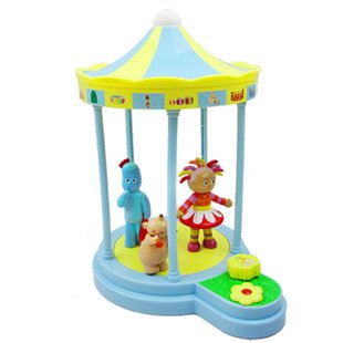 Brand New 30 Off Plastic Cool Toy In The Night Garden Series Spring Musical Rotating Pavilion Freeshipping