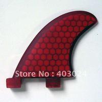 250124 GL Fiberglass Honey Comb 2 Fins Set