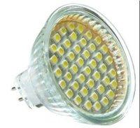 Светодиодная лампа EMS 50pcs/lot MR16 3W 24pcs 5050 SMD LED spot lighting 260lm, 2 years warranty CHIMEI chip, warm white