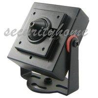 Mini Hidden 1/3 CMOS HD 600TVL 2.5mm Pinhole Surveillance Color CCTV Camera