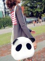 wholesale day bag shoulder bag  Handbag  Leisure Casual cartoon cute panda desgin Lady gril's Fashion message sling multi color