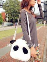 day bag shoulder bag  Handbag  Leisure Casual cartoon cute panda desgin Lady gril's Fashion sling multi color