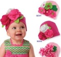 wholesale Flower spring HAT beanie BABY toddler INFANT girls