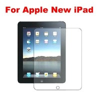 2 pcs/lot High Clear Screen Protectors Tablet PC Screen Guard For Apple iPnew iPad iPad 3 Free Shipping