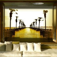 Free Shipping,Fashion 3d wallpaper, nice road wall murals,NEW ARRIVALS!
