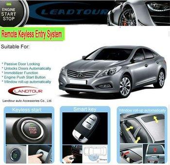 Car alarm immobilizer Keyless entry system rfid car alarm shenzhen for Hyundai Azera original IC chip PCB